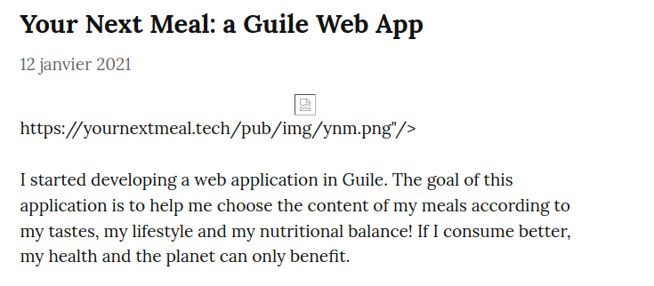 Screenshot_2021-02-08 Your Next Meal a Guile Web App